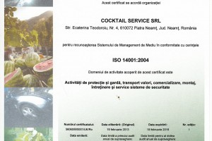Cocktail Service – Instalare sisteme de alarma, supraveghere video, detectie incendii, aer conditionat